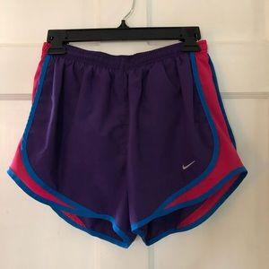 Purple Nike Tempo Running Shorts